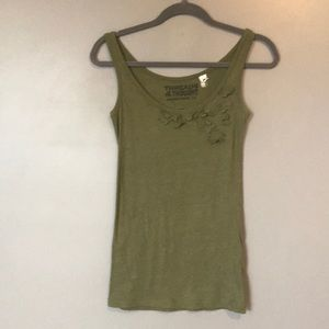 3 for 15!!💕 Threads 4 Thought tank top  olive